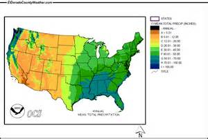 us map by rainfall united states yearly annual and monthly total