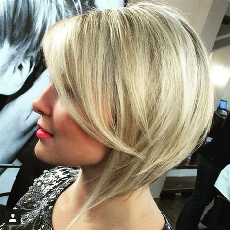 inverted bobs for fine hair 40 banging blonde bobs
