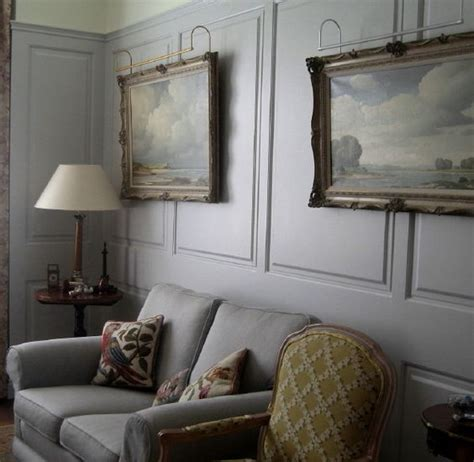 painted wood panel walls grey renaissaince wall panelling for our home