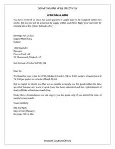 bad news letter template letter template 2017
