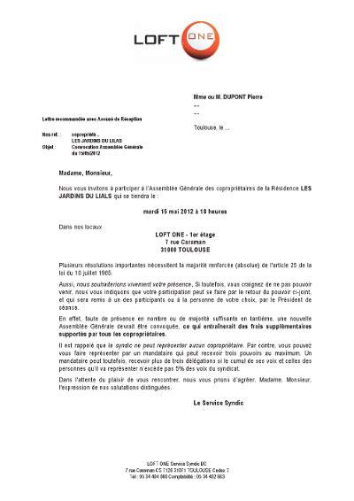 Exemple De Lettre D Invitation Des Syndicats exemple de lettre d invitation des syndicats 28 images