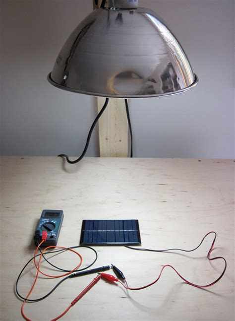 Solar Light Project How Does Solar Cell Output Vary With Incident Light Intensity