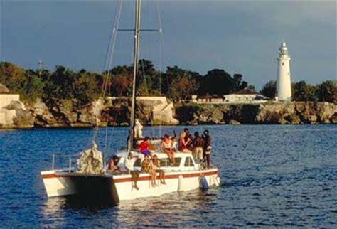 catamaran kingston jamaica getting there and around jamaica