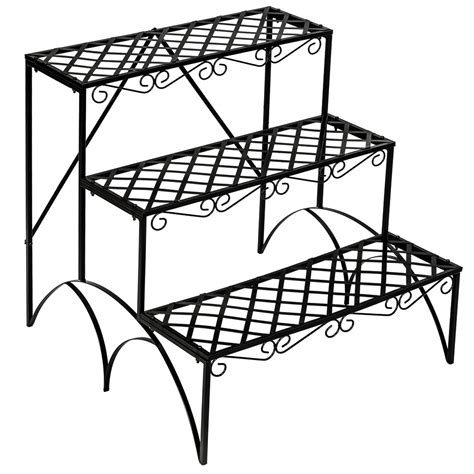 Etagere 50 X 100 by Tier Metal Garden Plant Pot Display Shelf Stand Flower
