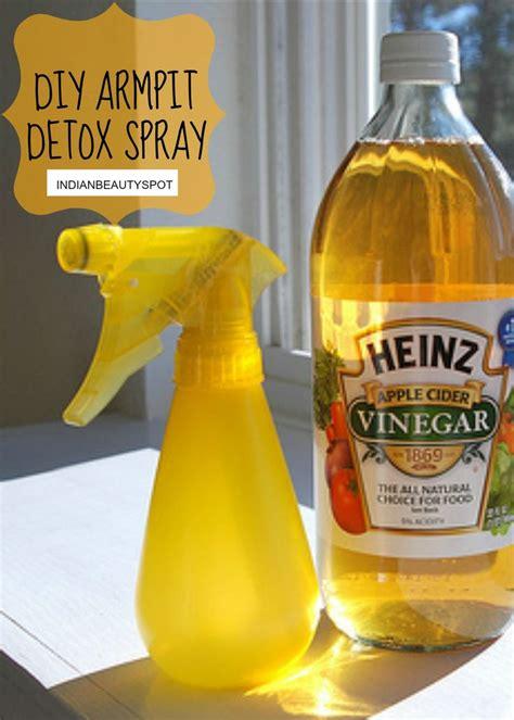 Detox Armpits With Lemon by Diy Armpit Detox Spray Apple Cider And Sprays