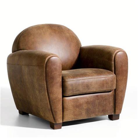 fauteuil club cuir vieilli fauteuil cuir veilli barnaby mousse et lieux