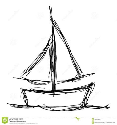 drawn sailboat basic pencil and in color drawn sailboat - Boat Drawing Basic