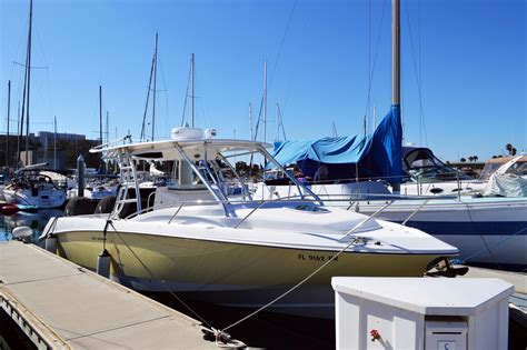 Saltwater Fishing Boats With Cabin by 2008 Used Boston Whaler 320 Outrage Cuddy Cabin Saltwater