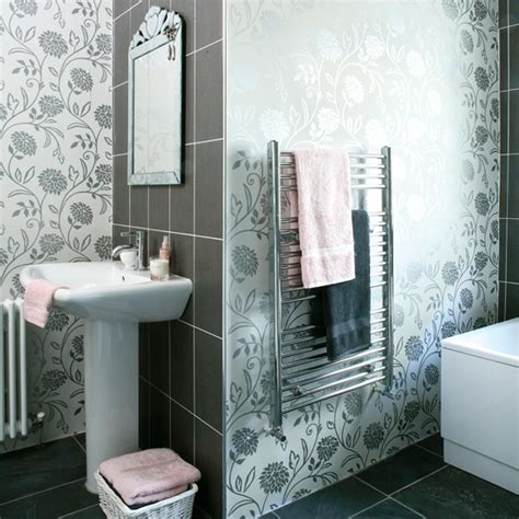 wallpaper bathroom designs bathroom wallpaper the debate room envy
