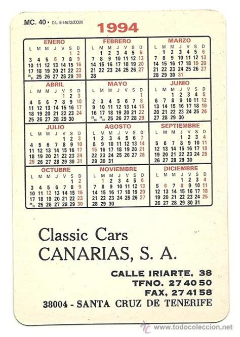Calendario A O 1994 Calendario 1994 Elbuencalendario Es
