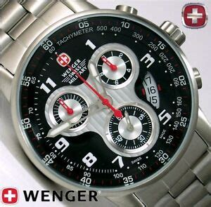 Swiss Army 400 wenger swiss army knife xl commando chronograph 944
