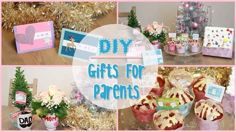 diy holiday gift ideas for parents ilikeweylie youtube