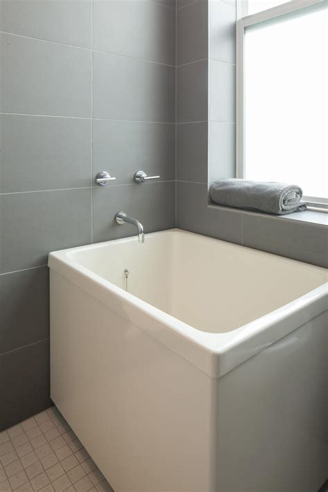 bathtub soaking ofuro soaking tubs vs american style bathtubs by home