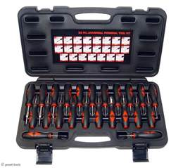 new 23 pc automotive wiring harness tool kit car electrical connector tools ebay