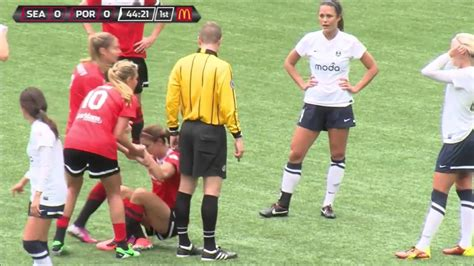 morgan 14 years old rough foul alex morgan and goal youtube