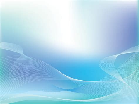 blue wave lights silver blue lights wave powerpoint templates abstract