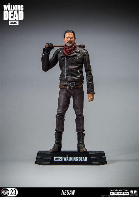 Mcfarlane Toys The Walking Dead Tv Negan 7 Figure 12 color tops the walking dead tv series negan by mcfarlane