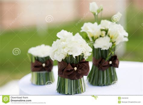 Wedding Ceremony Flowers Decor Stock Image   Image: 31616191