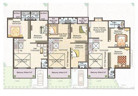10 foot cer floor plans row house plans in 2000 sqft escortsea