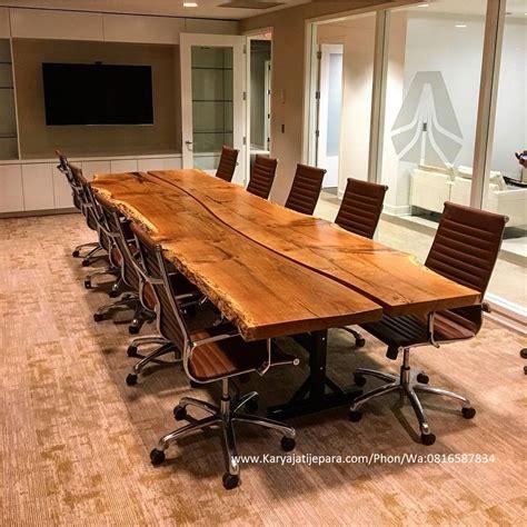 Meja Rapat Kayu Jati meja meeting kayu jati slid ii mempunyai kontruksi yang