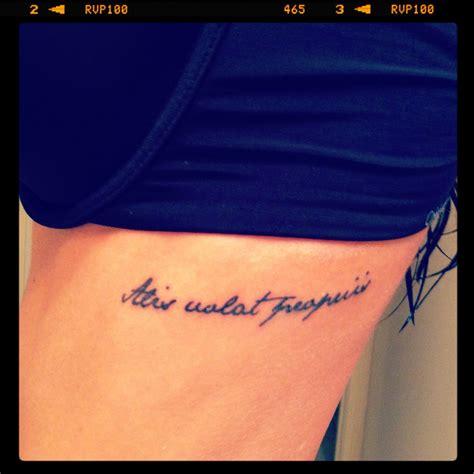 alis volat propriis tattoo designs alis volat propriis rib my style