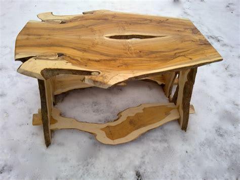 Naturholz Tisch by Wohnzimmertisch Naturholz Forafrica