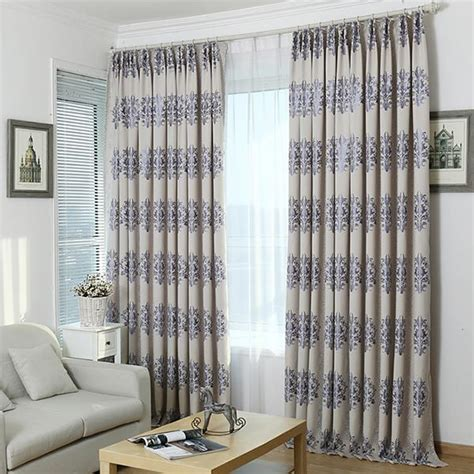 ready made bedroom curtains new arrival grey ready made printed window blackout