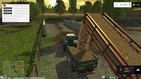 Ls City Home 2014 2015 conveyor belt for wood chips v 1 1 farming simulator