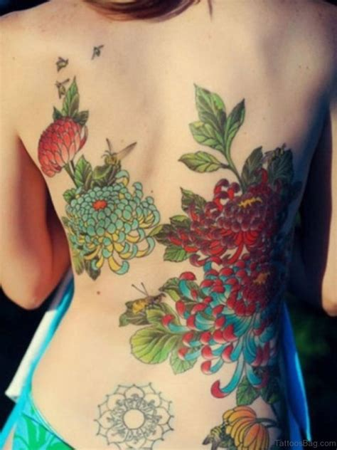 beautiful flower tattoos 70 lovely flowers tattoos on back