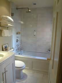 good idea for bathrooms too small separate shower and tub bathroom