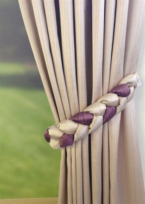 how to make tiebacks for curtains blog