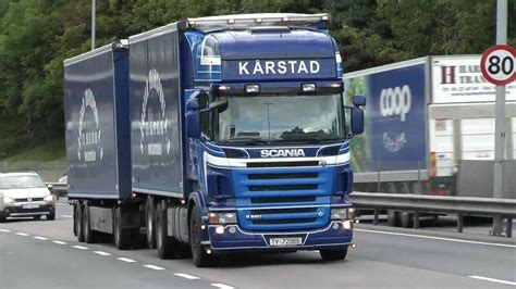 video truck video with different scania trucks 3 youtube