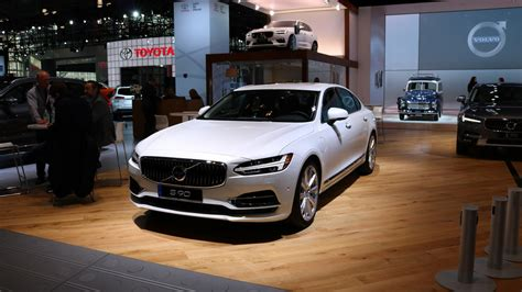2018 volvo s90 at 2017 new york auto show photo
