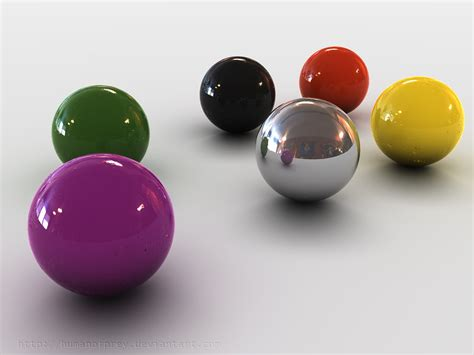 colored balls 3d colored balls by humanofprey on deviantart