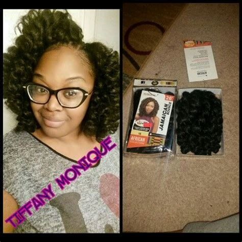 jamaican bounce crochet hair install and then separate curls 1000 images about crochet braids weave on pinterest