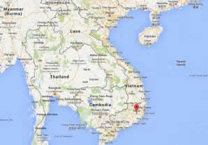 vietnam map central highlands