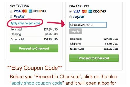 how to promote coupon codes on etsy