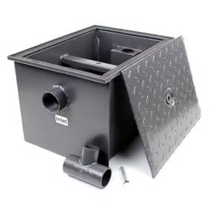 kitchen grease trap design asian and western kitchenware catering equipments