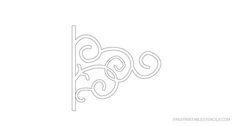 printable decorative stencils printable ornamental border stencils free printable stencils
