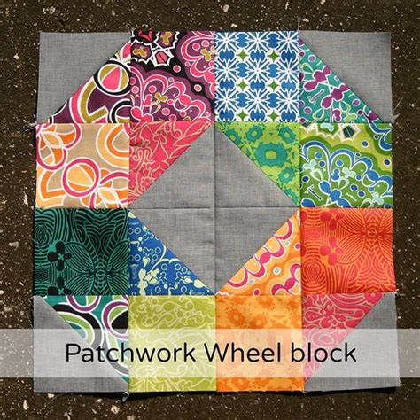 Patchwork Dons - patchwork wheel block tutorial don t call me betsy