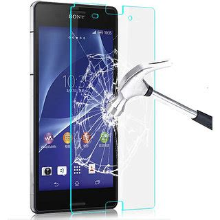 Ion Sony Xperia C Tempered Glass Screen Protector 1 callmate premium tempered glass screen protector for sony