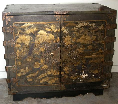 japanese chest antique exquisite antique japanese lacquer chest from