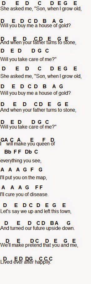 House Of Gold Uke Chords by Twenty One Pilots House Of Gold Flute Sheet