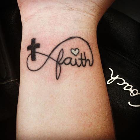 cross tattoos with bible verses my infinity faith cross tattoos