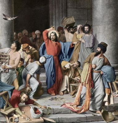 jesus cleanses the temple whatever happened to the man with one ear