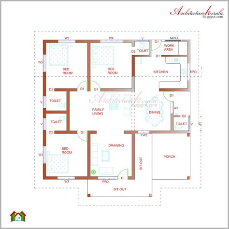 3 bedroom low cost house plans architecture kerala beautiful kerala elevation and its