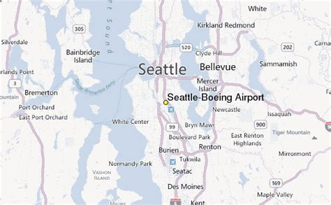 Seattle Boeing Airport Weather Station by Seattle Boeing Airport Weather Station Record Historical