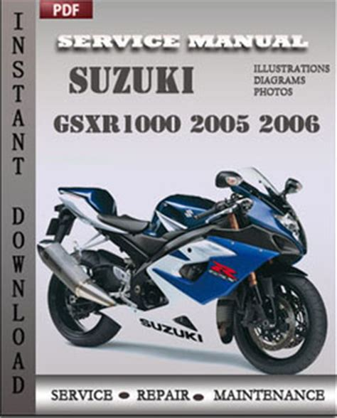 Suzuki 2005 Owners Manual Suzuki Gsxr1000 2005 2006 Maintenance Manual Pdf Global