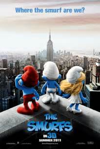 smurfs 3d movie poster wallpapers cartoon wallpapers