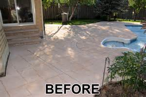 Patio Sealent by Home Painters Toronto 187 Driveway And Patio Colored